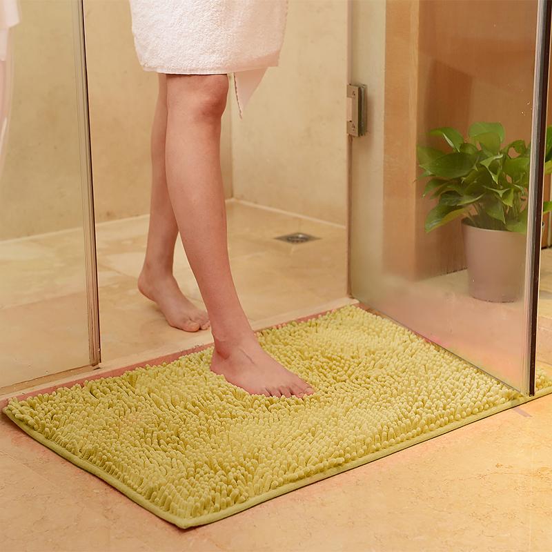 bathroom mat. Chenille Bath Mat Rug Set 100 Microfiber Noodle  Bathroom