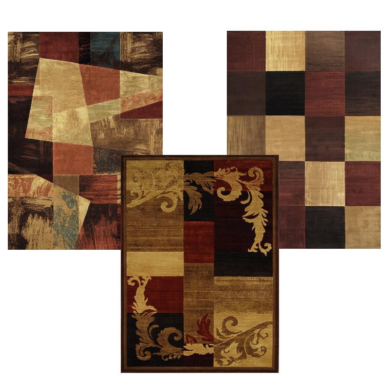 Contemporary Multi Transitional 5x8 Area Rug Casual Carpet ...