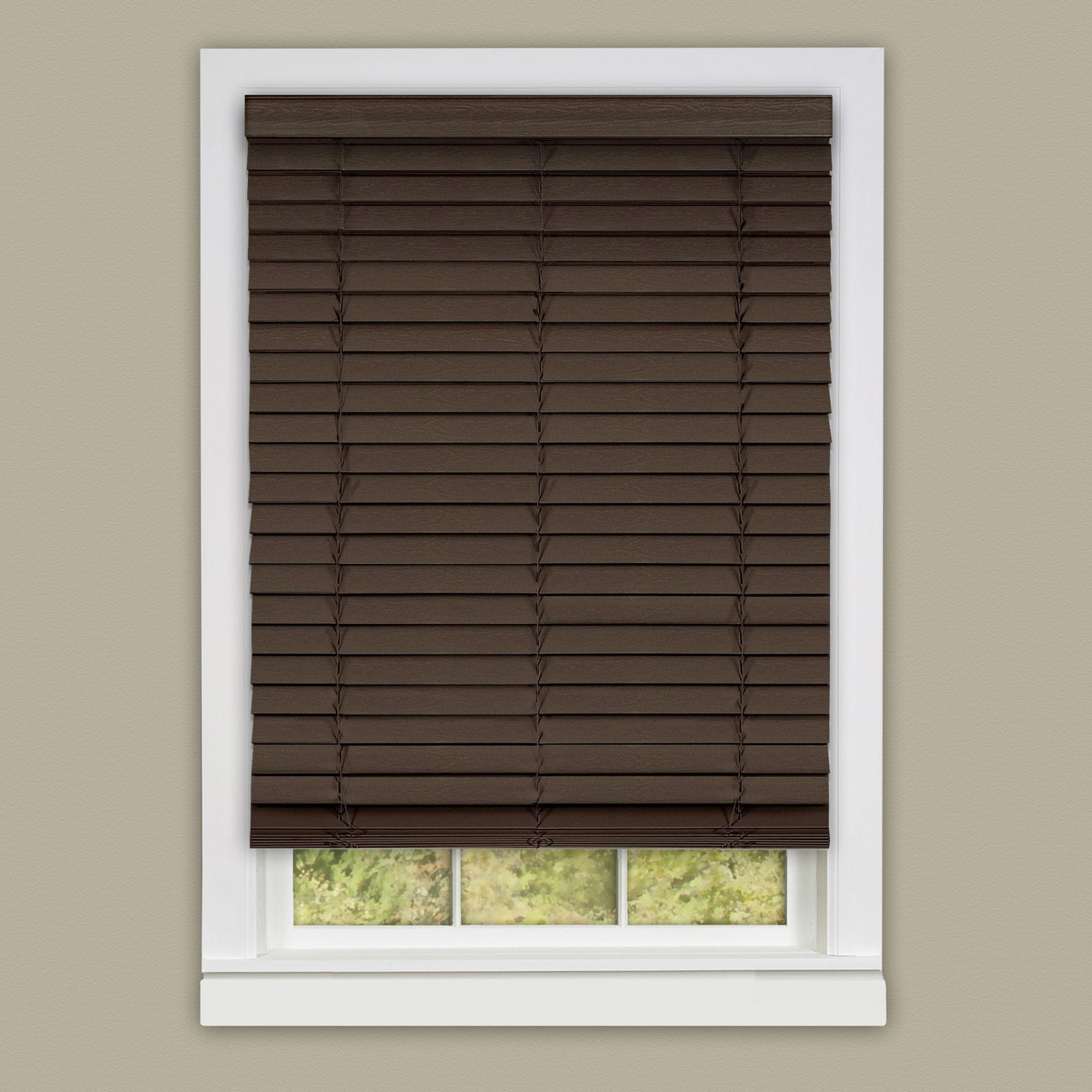 measurement x mini kitchen plantation blinds collection blind cordless venetian home wood inch dp vinyl com woodtone amazon actual