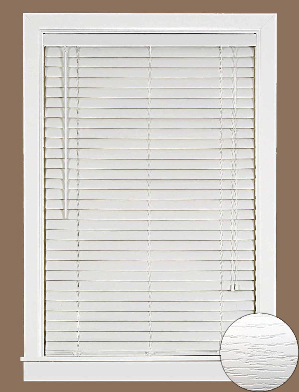 Window Blind 2 Quot Slats Mini Blinds Vinyl Embossed Woodgrain