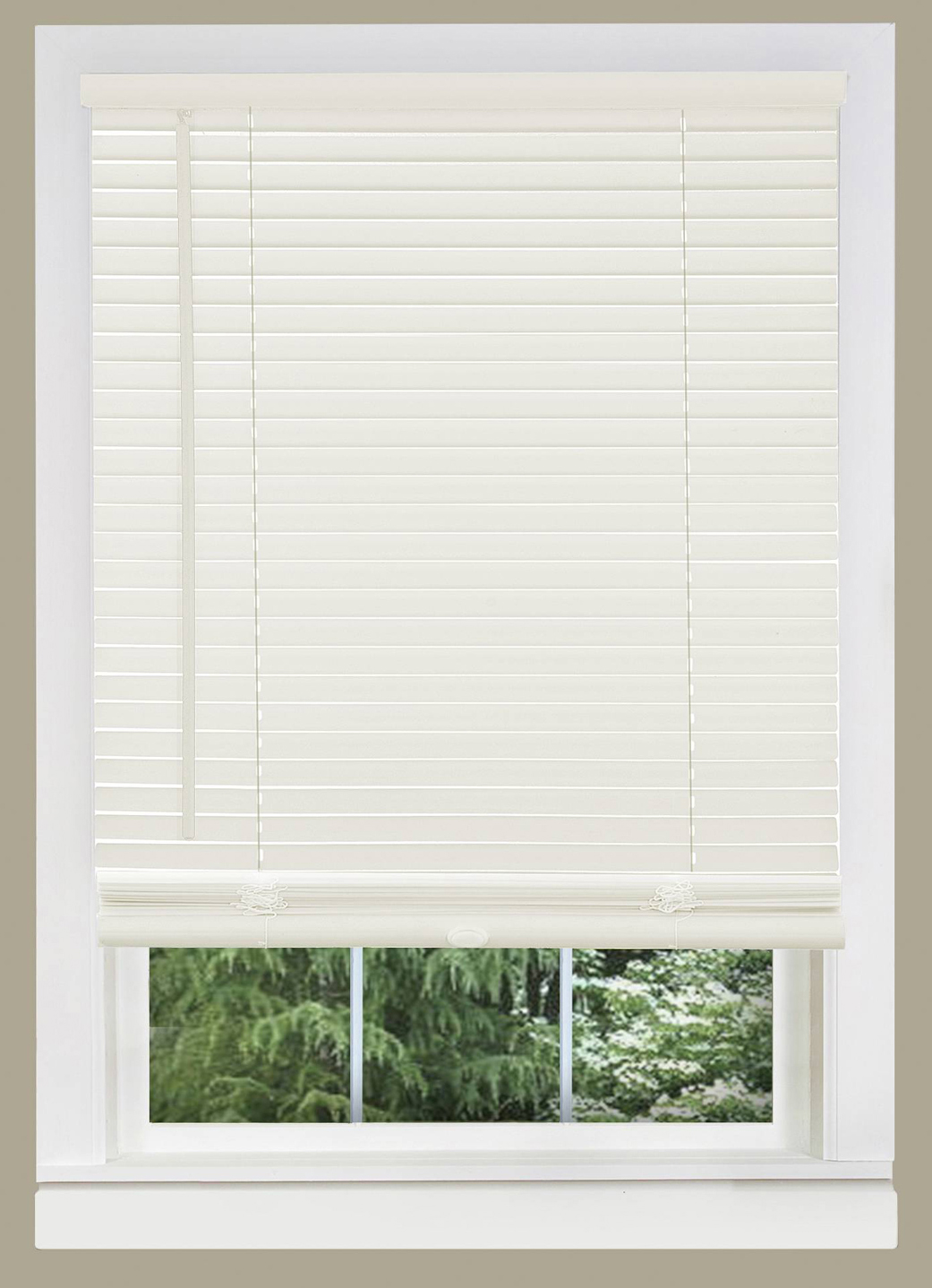 Cordless Window Blinds Mini Blinds 1 Quot Black White