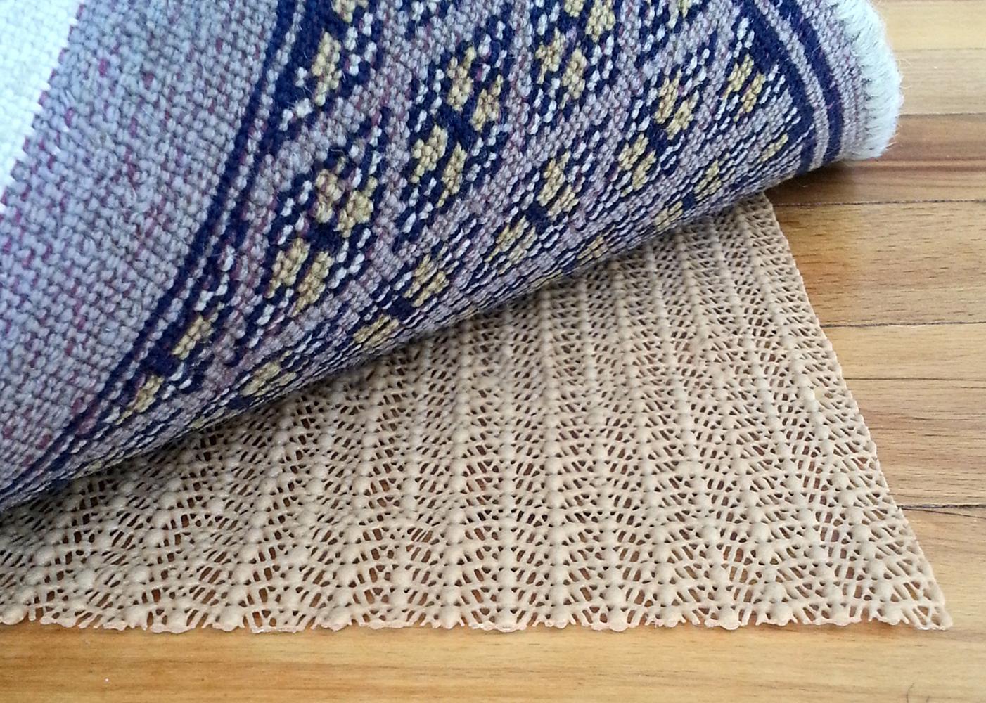 Non Skid Slip Area Rug Pad Underlay Nonskid Pads Carpet Mat Runner