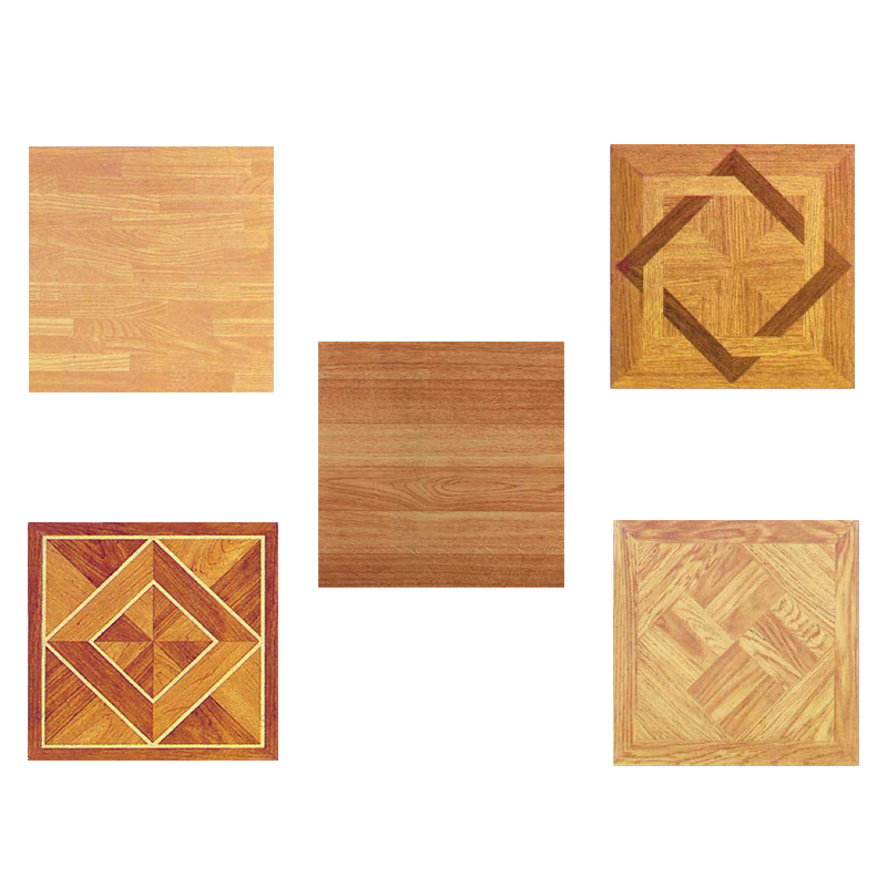 Wood Vinyl Tiles 40 Pieces Self Adhesive Indoor Flooring