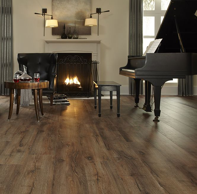 Vinyl Flooring Wood Reviews: Self-Adhesive Vinyl Planks Hardwood Wood Peel 'N Stick