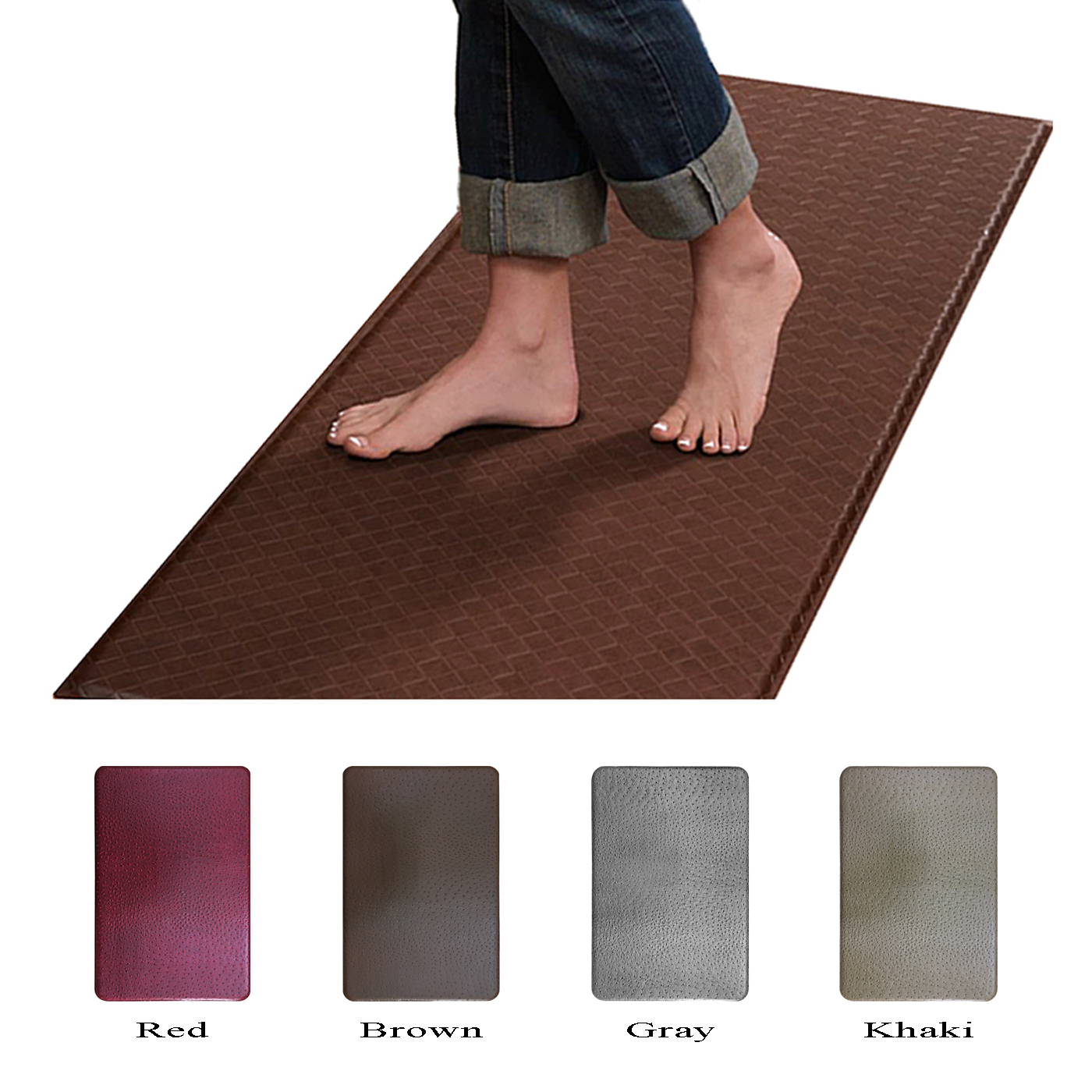 Cushion Comfort Anti Fatigue Kitchen Floor Mat Rug