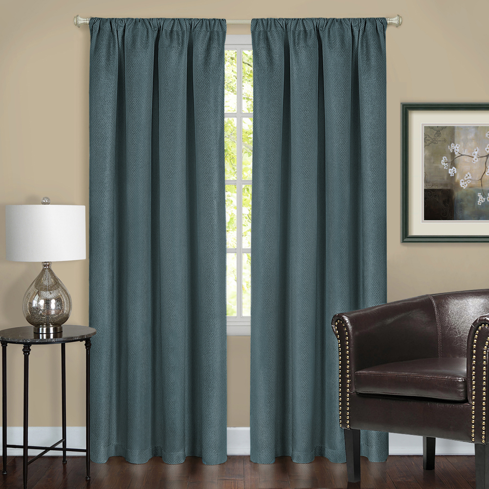 Window 2-Pack Panel Curtain Solid Energy Efficient 100