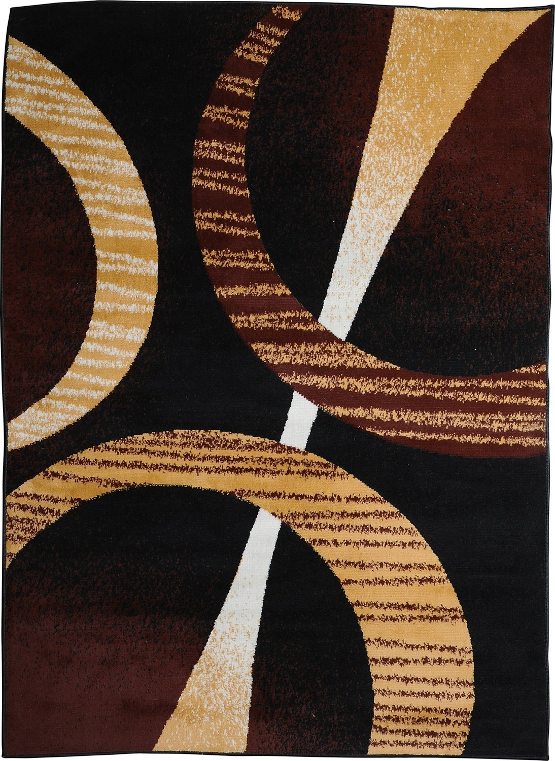 Modern Contemporary Geometric Area Rug Runner Accent Mat