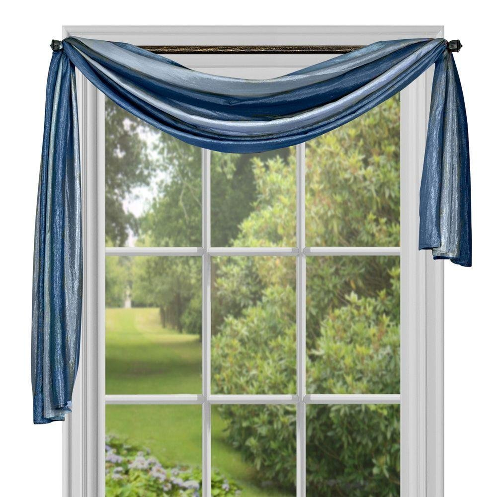 valance scarf ideas home curtains for doors glass design door sliding