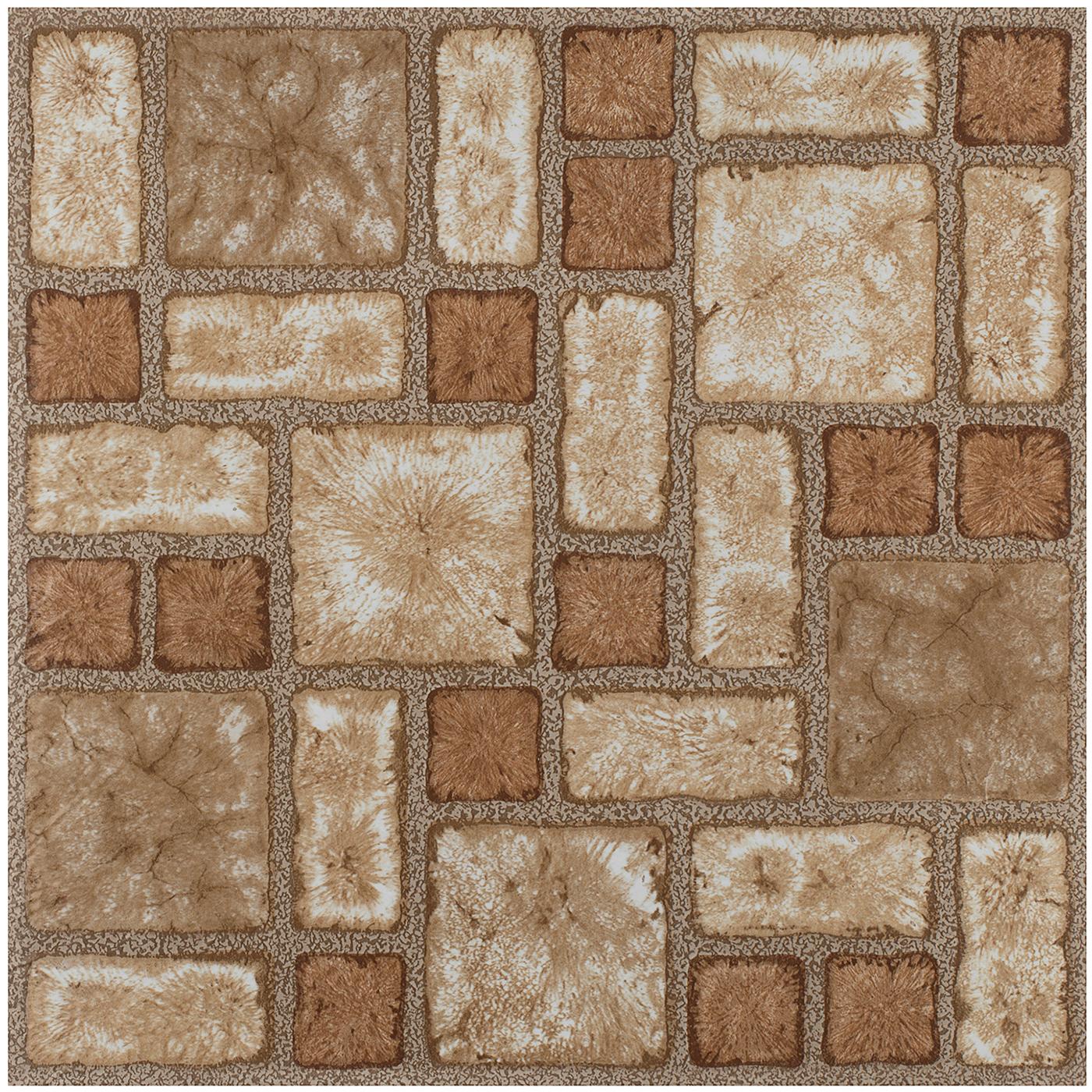Sticky Floor: Vinyl Floor Tiles Wood & Marble Look 2mm Thick Highly