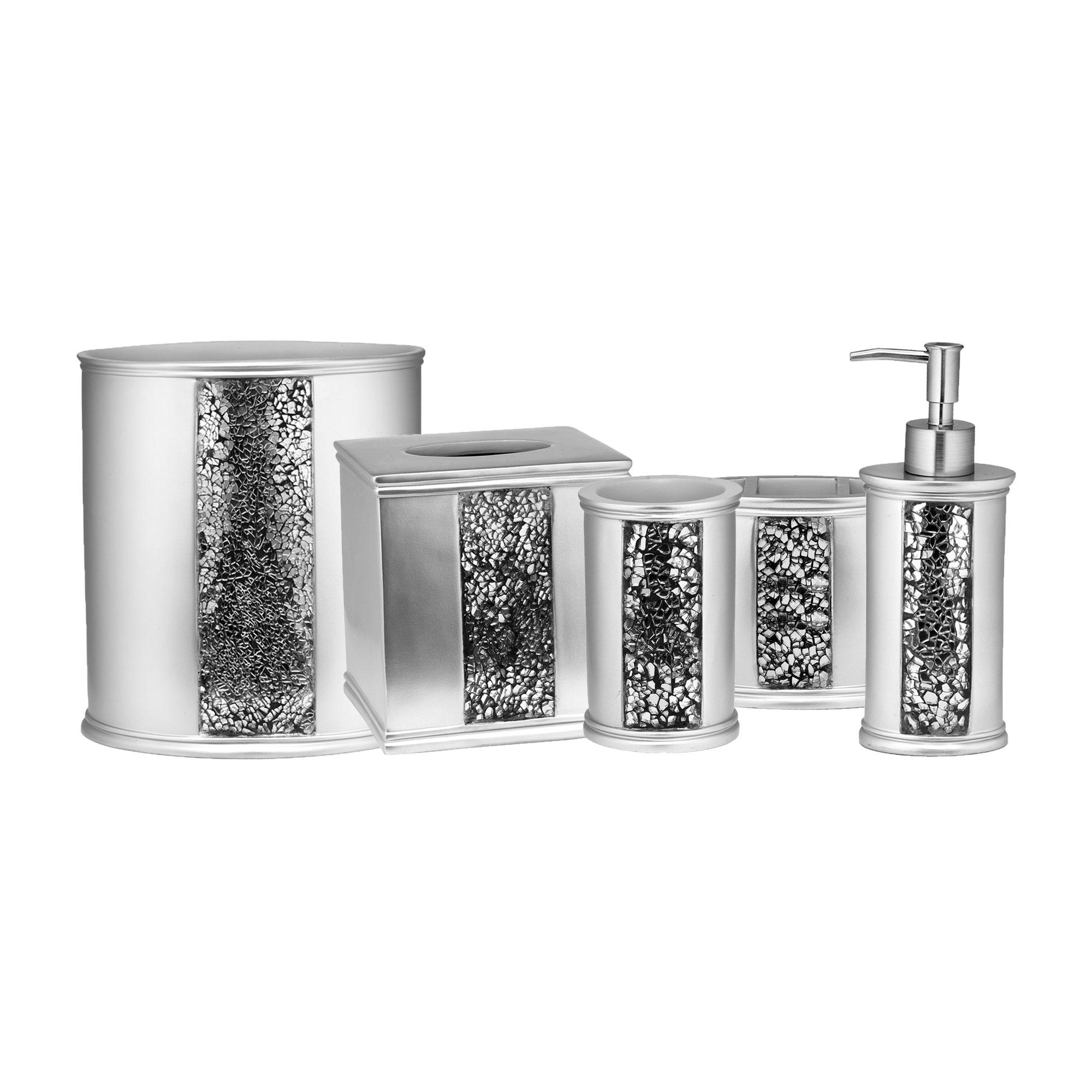 Designer Designer Designer Home 13-PC Full Bath Accessories  Includes Curtain, Towel Sets, Rug Set 264884