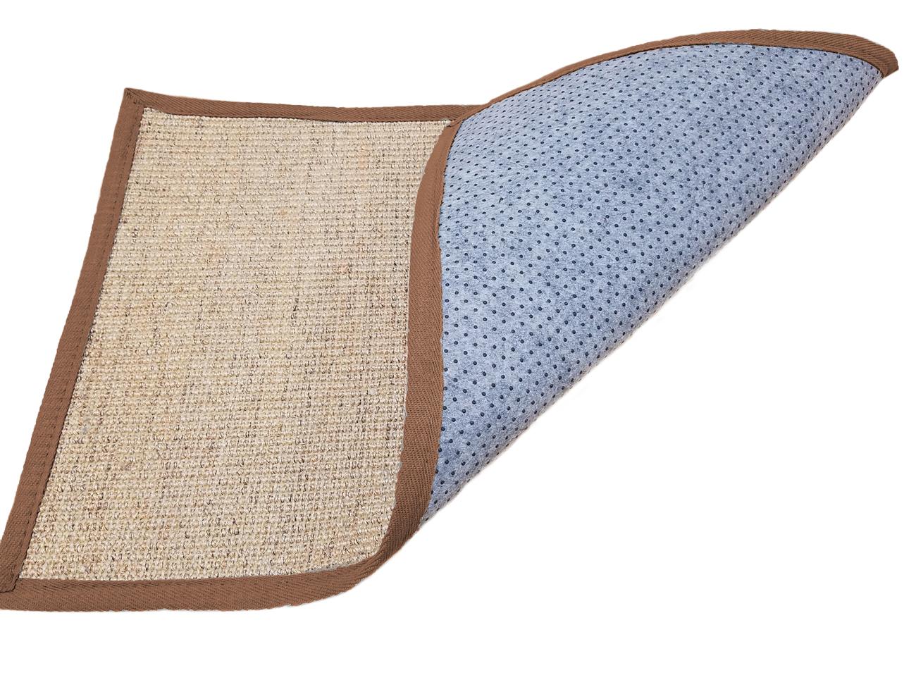 brown sisal seagrass area rug bordered natural fiber casual accent carpet rugs ebay. Black Bedroom Furniture Sets. Home Design Ideas