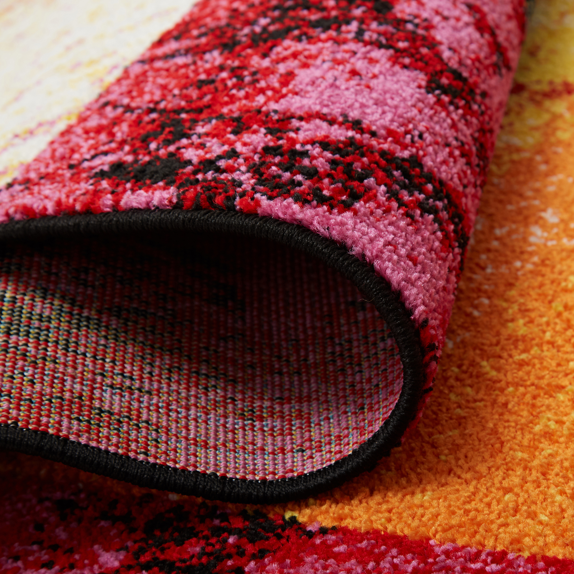 Modern Multi-Color Area Rug 2x3 Abstract Blocks Carpet ...