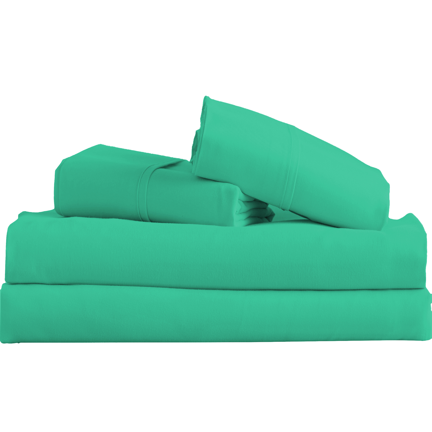 Supreme-Super-Soft-4-Piece-Bed-Sheet-Set-Deep-Pocket-Bedding-All-Colors-Sizes thumbnail 64