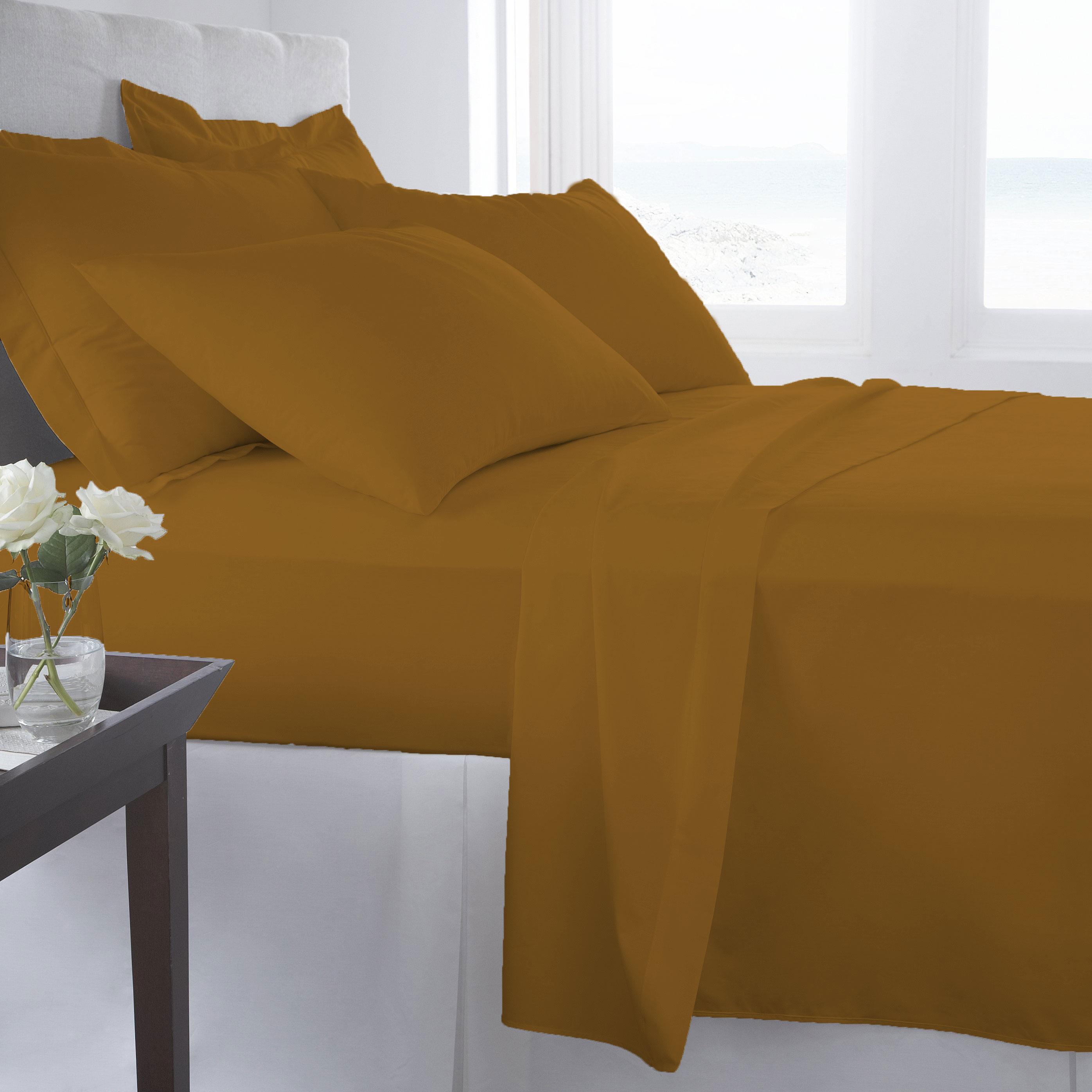 Supreme-Super-Soft-4-Piece-Bed-Sheet-Set-Deep-Pocket-Bedding-All-Colors-Sizes thumbnail 44