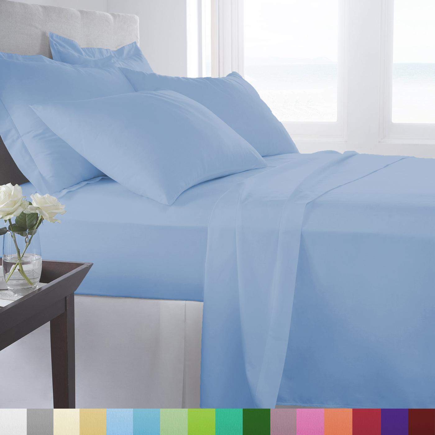 Supreme Super Soft 4 Piece Bed Sheet Set