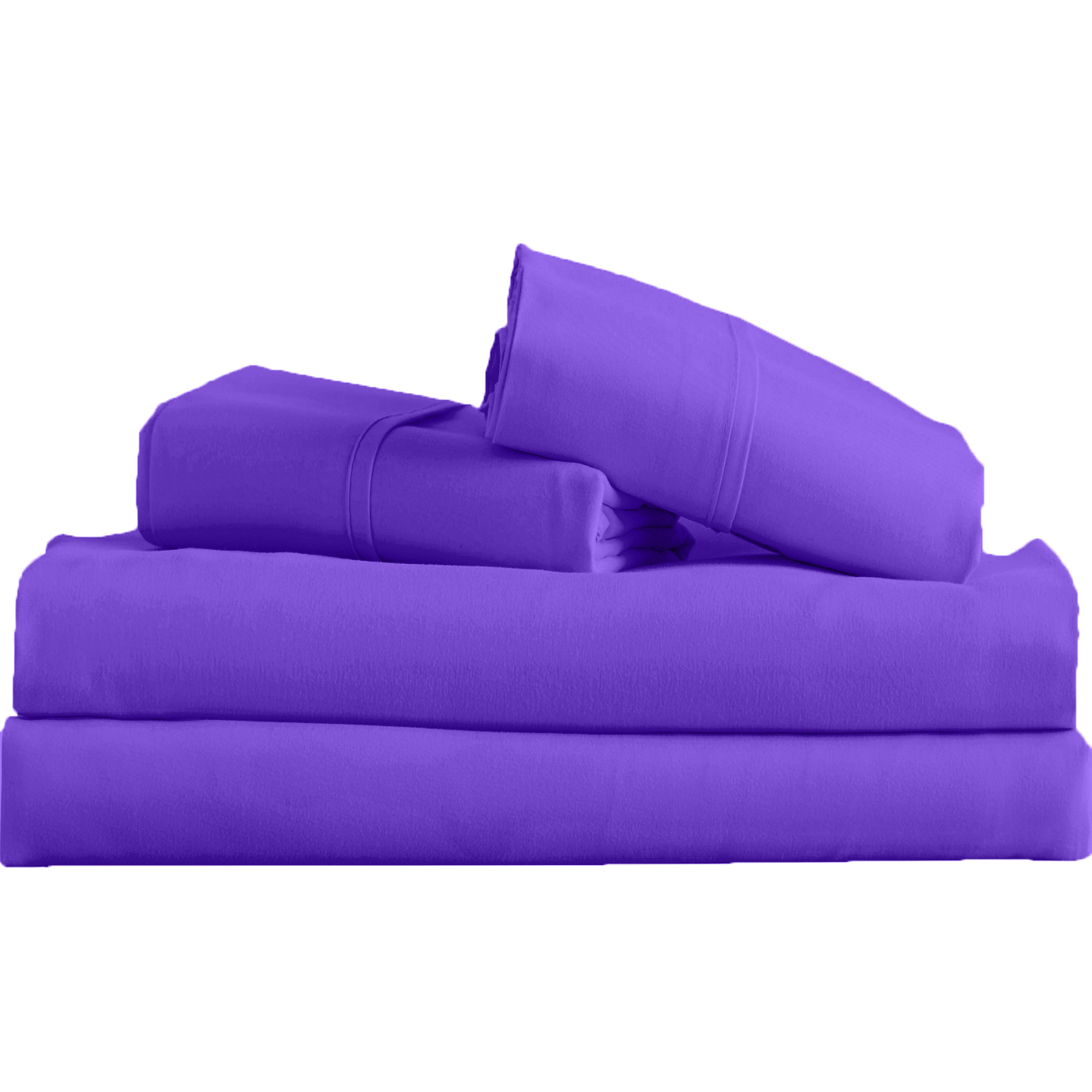 Supreme-Super-Soft-4-Piece-Bed-Sheet-Set-Deep-Pocket-Bedding-All-Colors-Sizes thumbnail 44