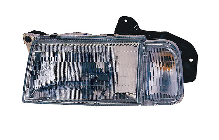 Replacement Depo 332 1168l Asc Driver Side Headlight For