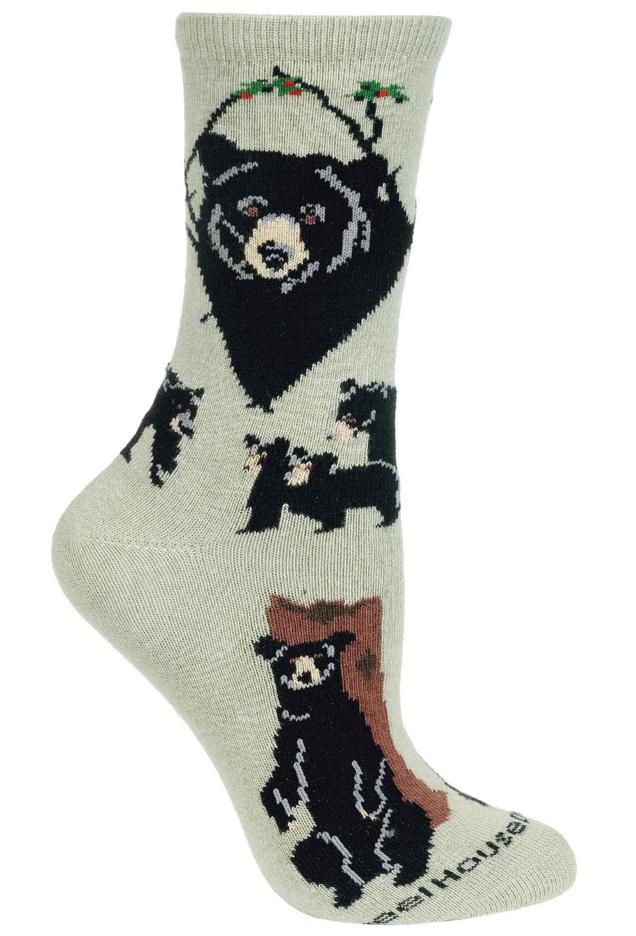 Https D3d71ba2asa5oz Cloudfront Net 53000257 Images Ph1474m Bearblack Mf Jpeg Socks Women Socks Black Bear