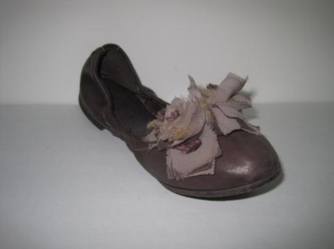 Pantofla dOro womens ballerina ebano brown flats 37  180 New on ... 2a7e6a4d9