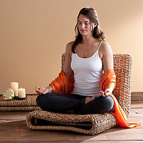 Water Hyacinth Meditation Chair