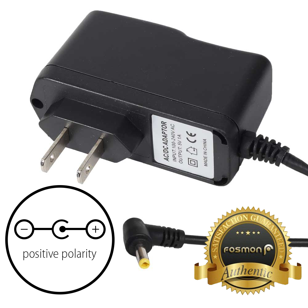 Fosmon 4ft Ac 100 240v To Dc 5v 1a Power Supply Wall Charger Adapter Us Plug