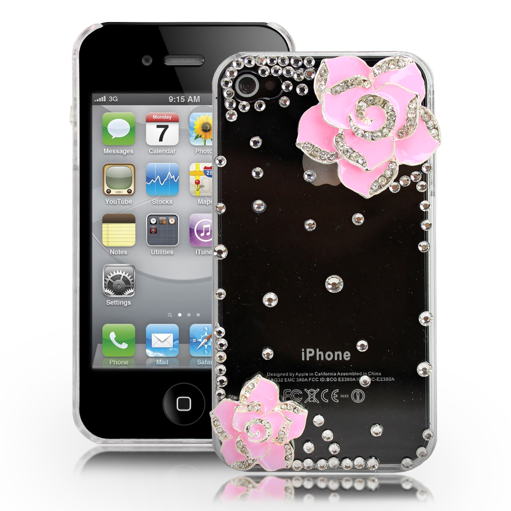 iphone 4s 4g for apple iphone 4 4s 4g shell cover bling 10899