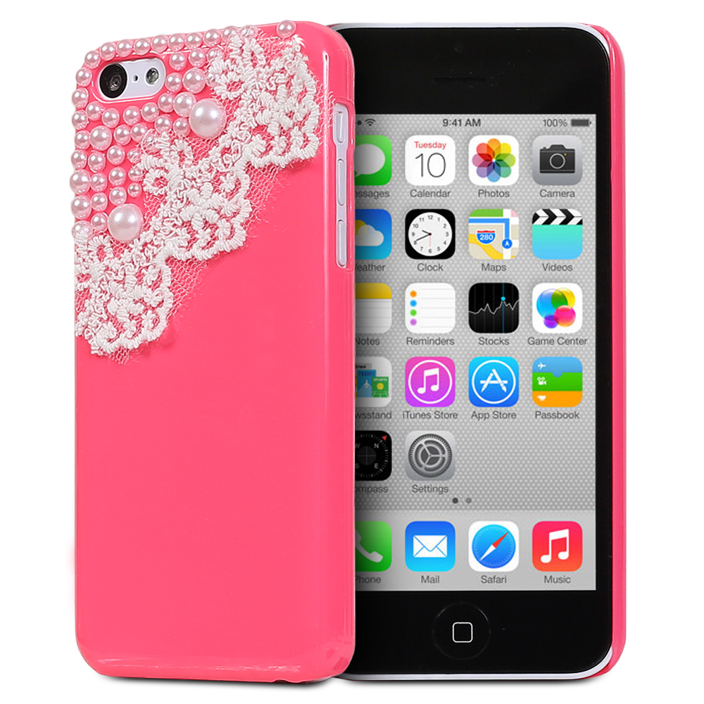 3d iphone 5c cases fosmon 3d bling rhinestone 13345