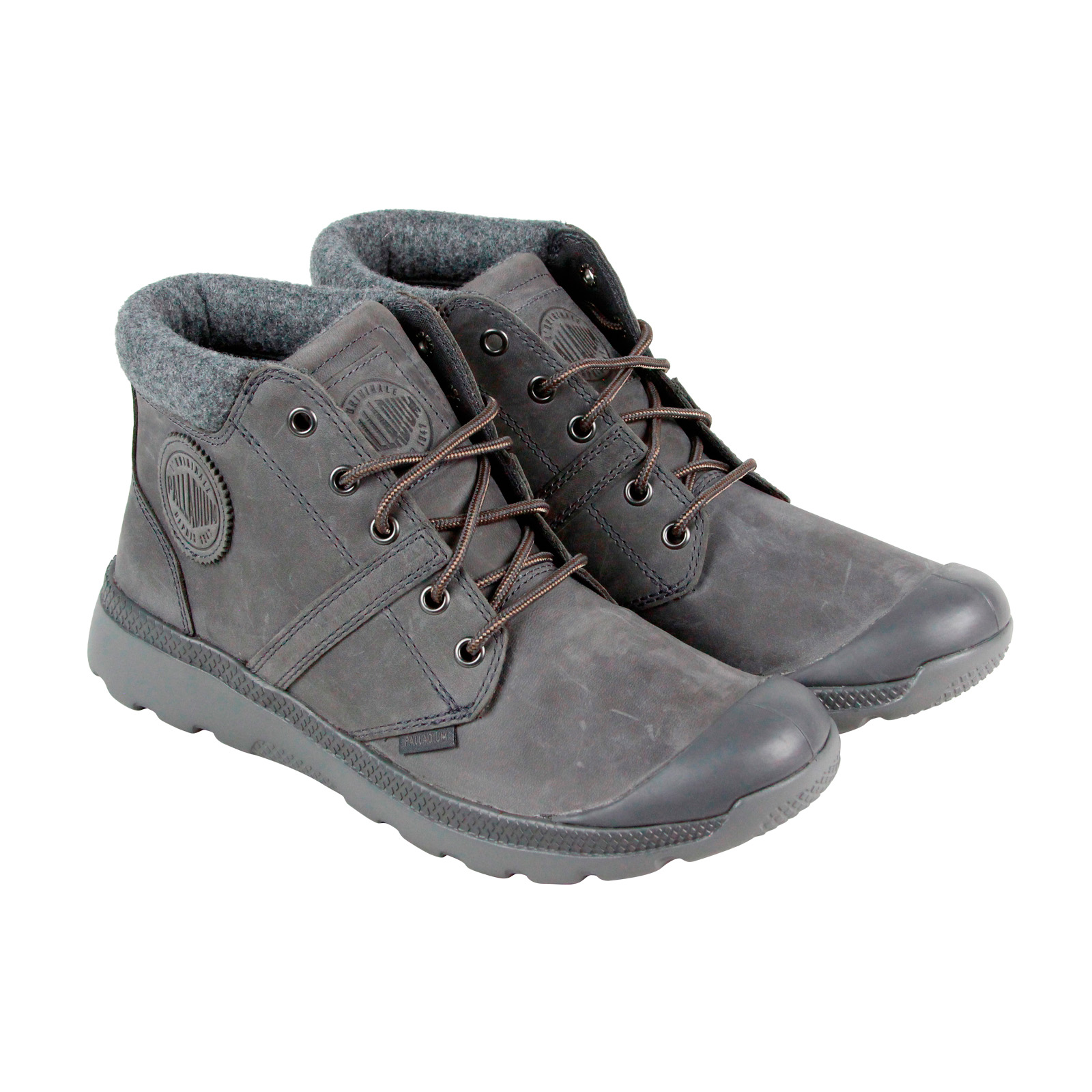 Zapatos grises casual PALLADIUM para mujer jeCrWrTqGy