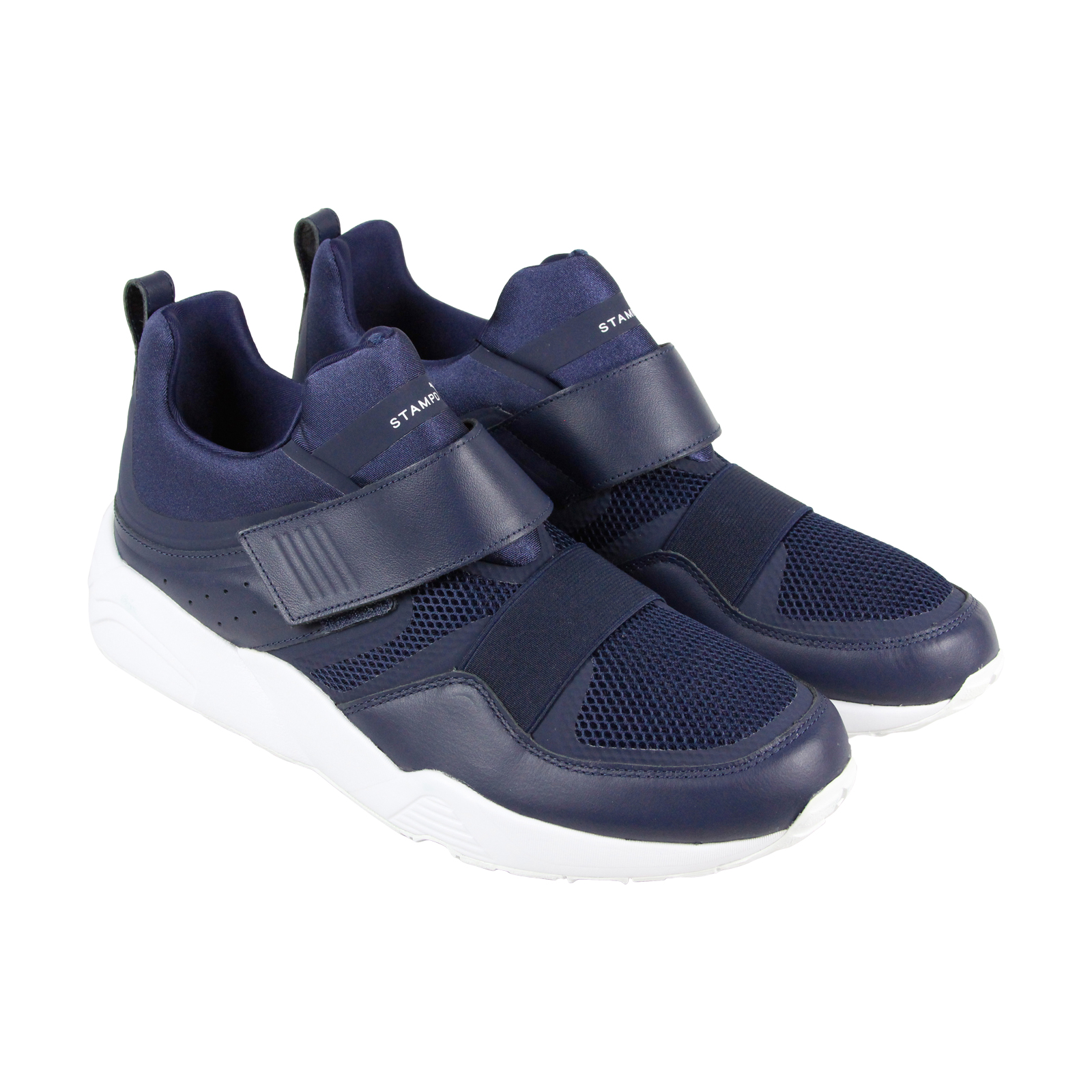 Puma Blaze Of Glory Strap X Stampd homme Bleu Leather athlétique Training chaussures 11