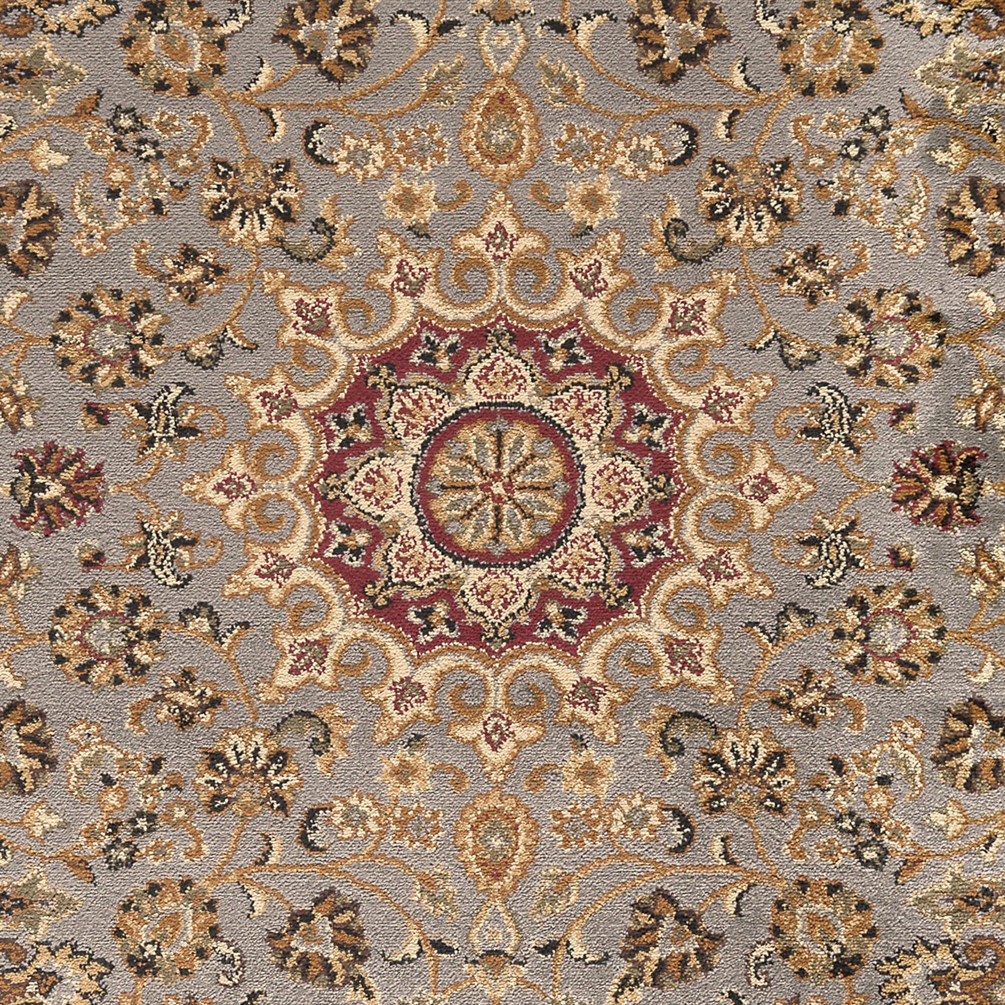Blue Traditional Oriental 6' Oval Area Rug Persian Carpet