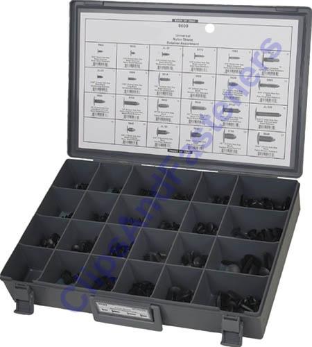 311 Pc Universal Shield Retainer Assortment Ebay