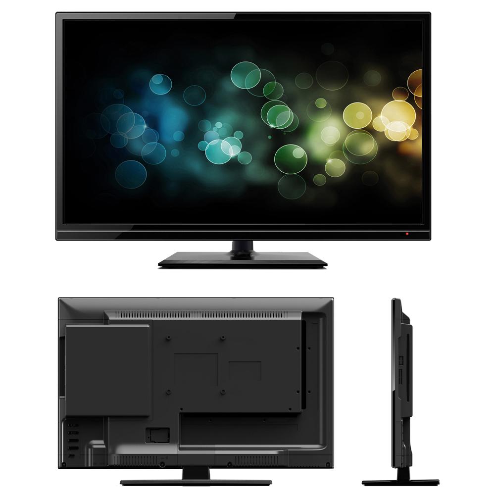 majestic 18 5 ultra slim hd led tv with dvd player 12v. Black Bedroom Furniture Sets. Home Design Ideas