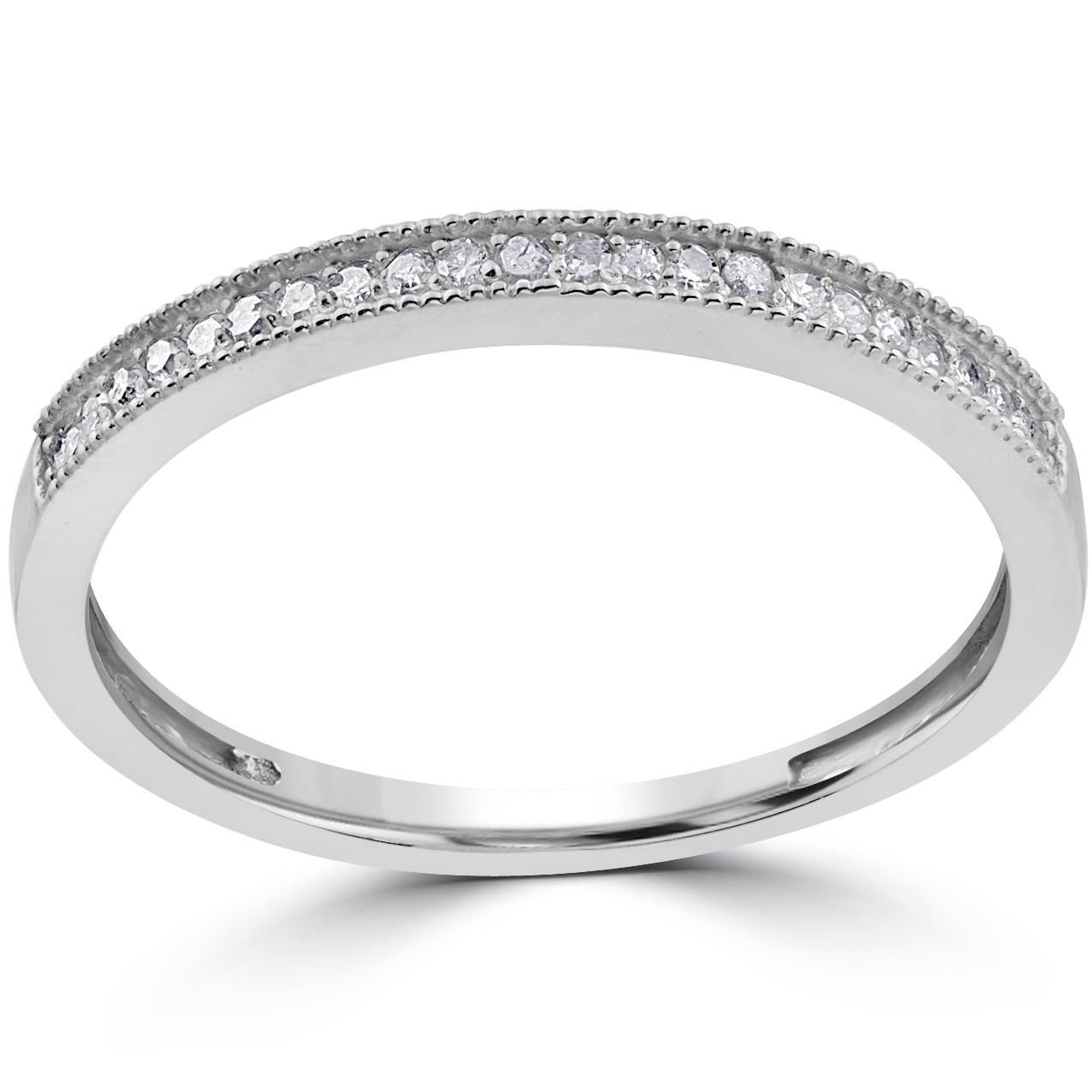 1 8ct wedding ring 10k white gold ebay