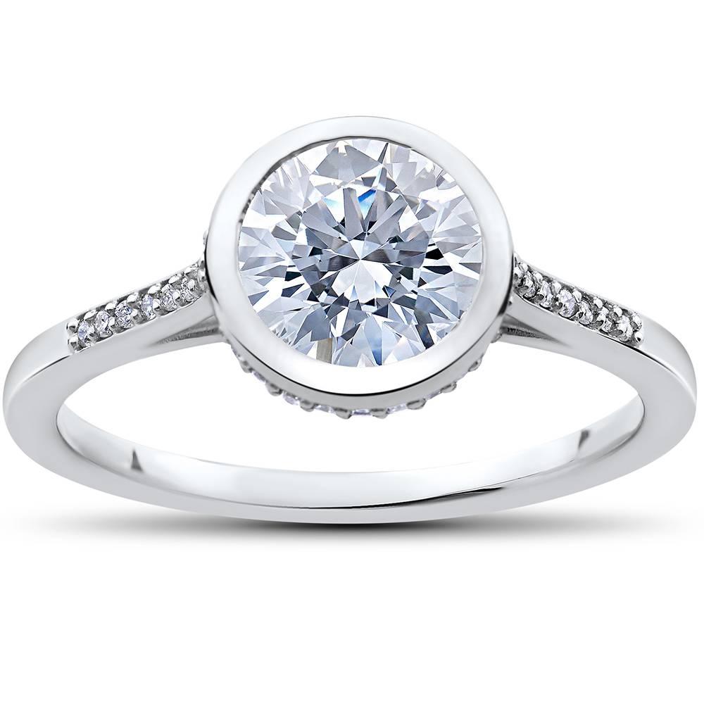 1/8 ct Lab Grown Diamond Aria Engagement Ring Setting