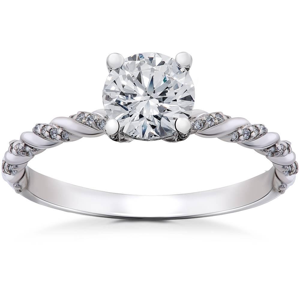 1/6 ct Diamond Mia Engagement Ring Setting