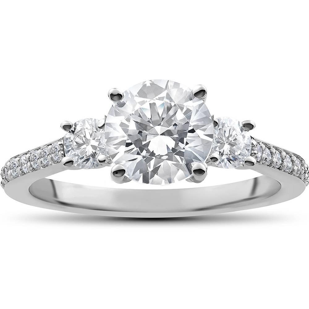1/2 ct Round Diamond Engagement Ring Setting