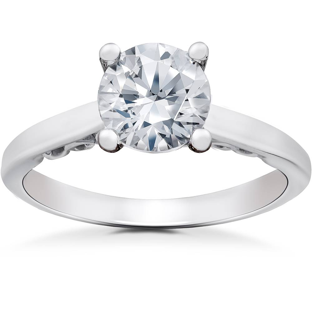 Diamond Gabriella Engagement Ring Setting