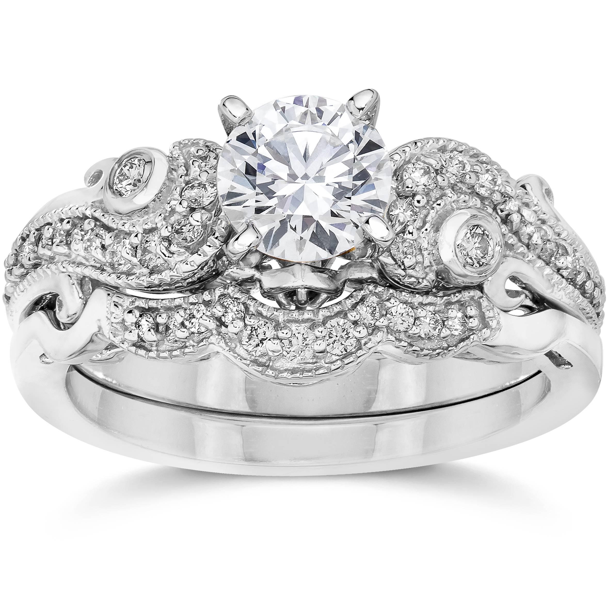 Vintage Wedding Ring Set 52