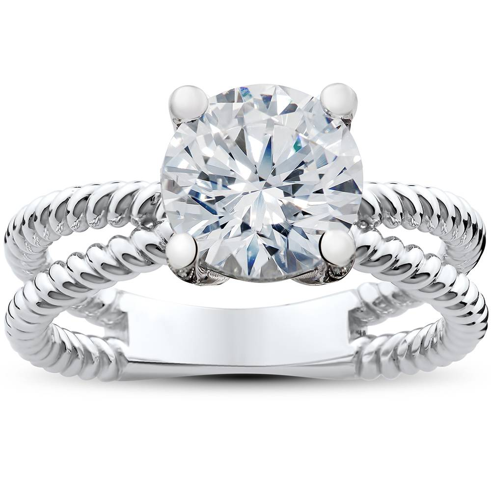 rings band lily ring engagement wedding diamond and