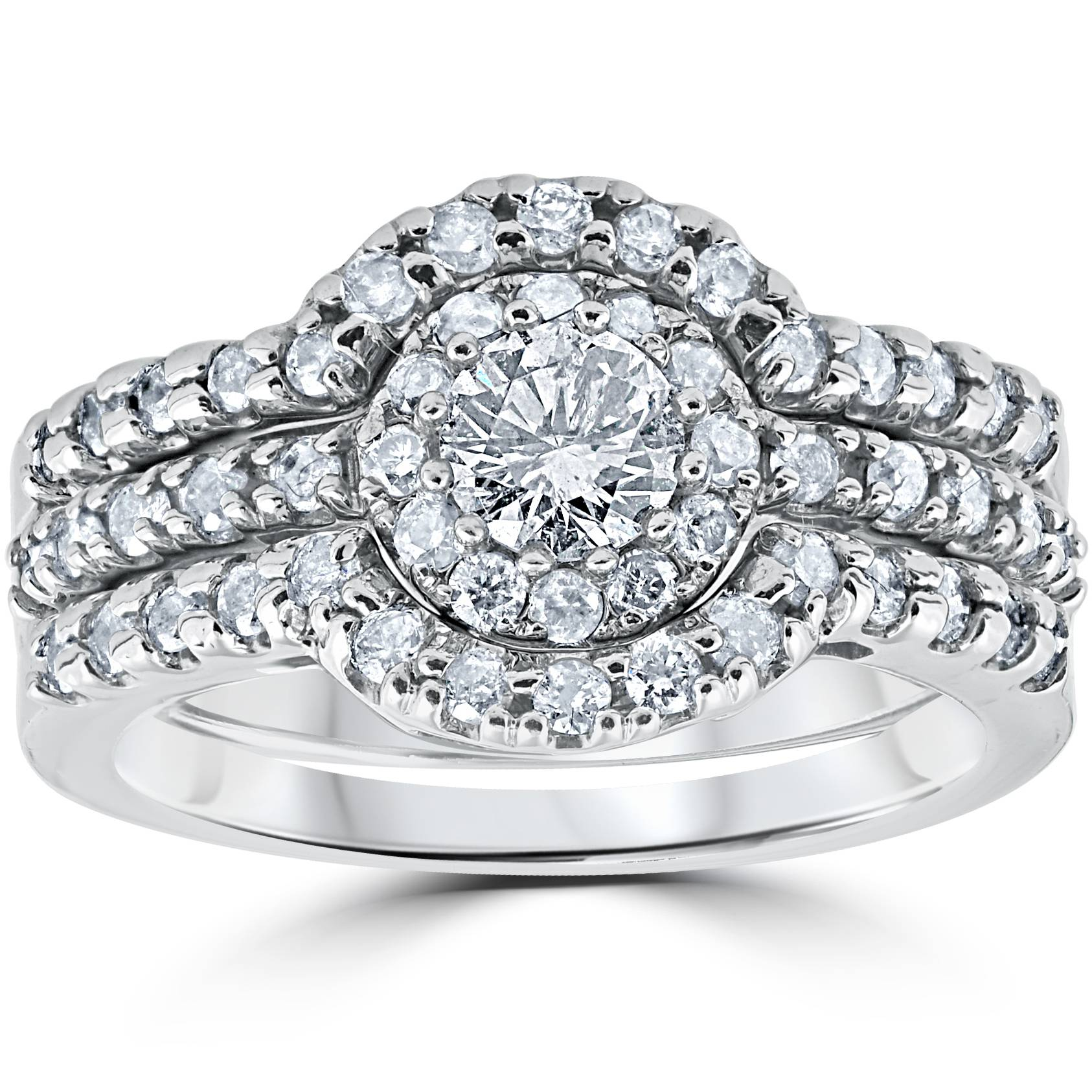 1 25 ct engagement ring matching wedding band