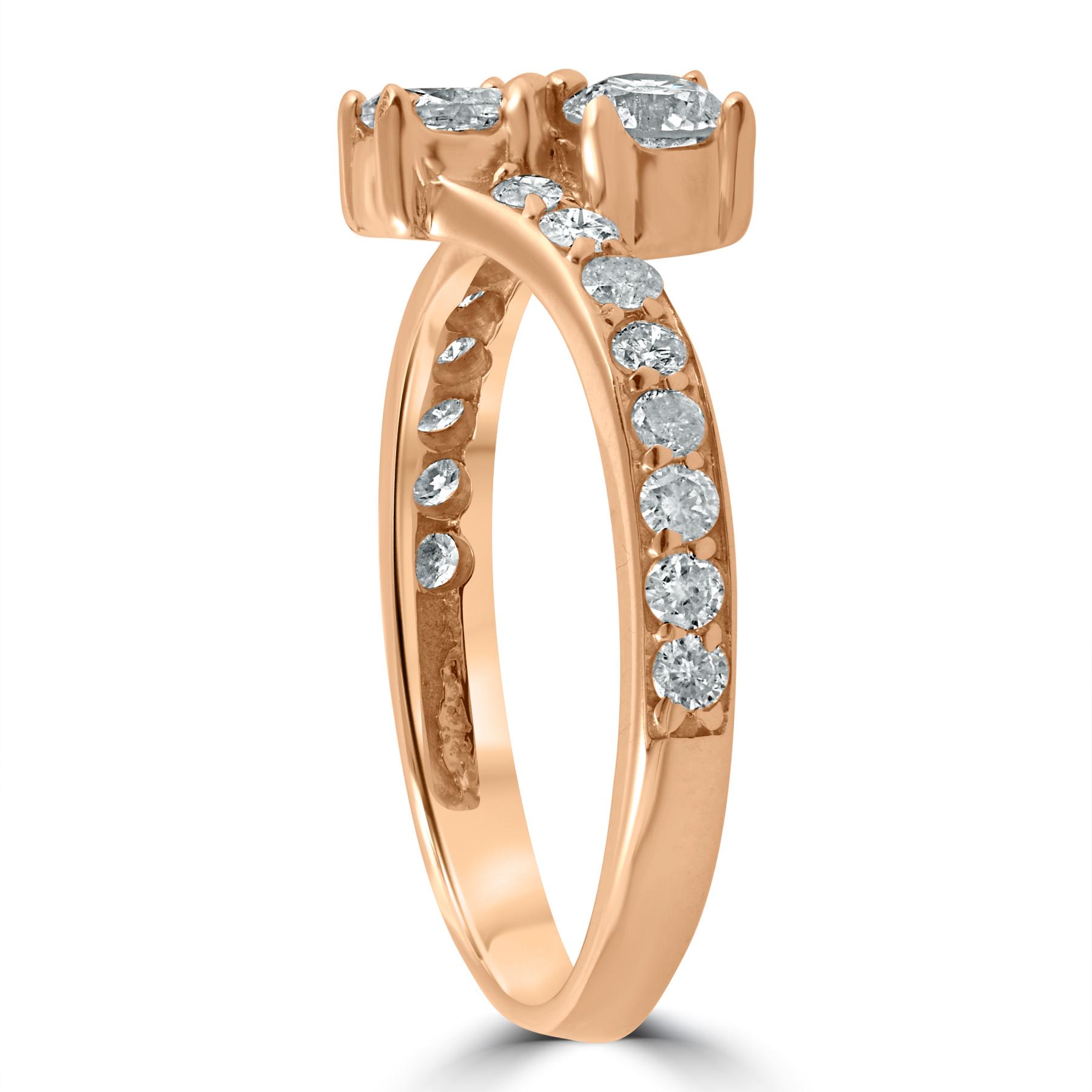 1 carat forever us 2 stone solitiare diamond engagement. Black Bedroom Furniture Sets. Home Design Ideas