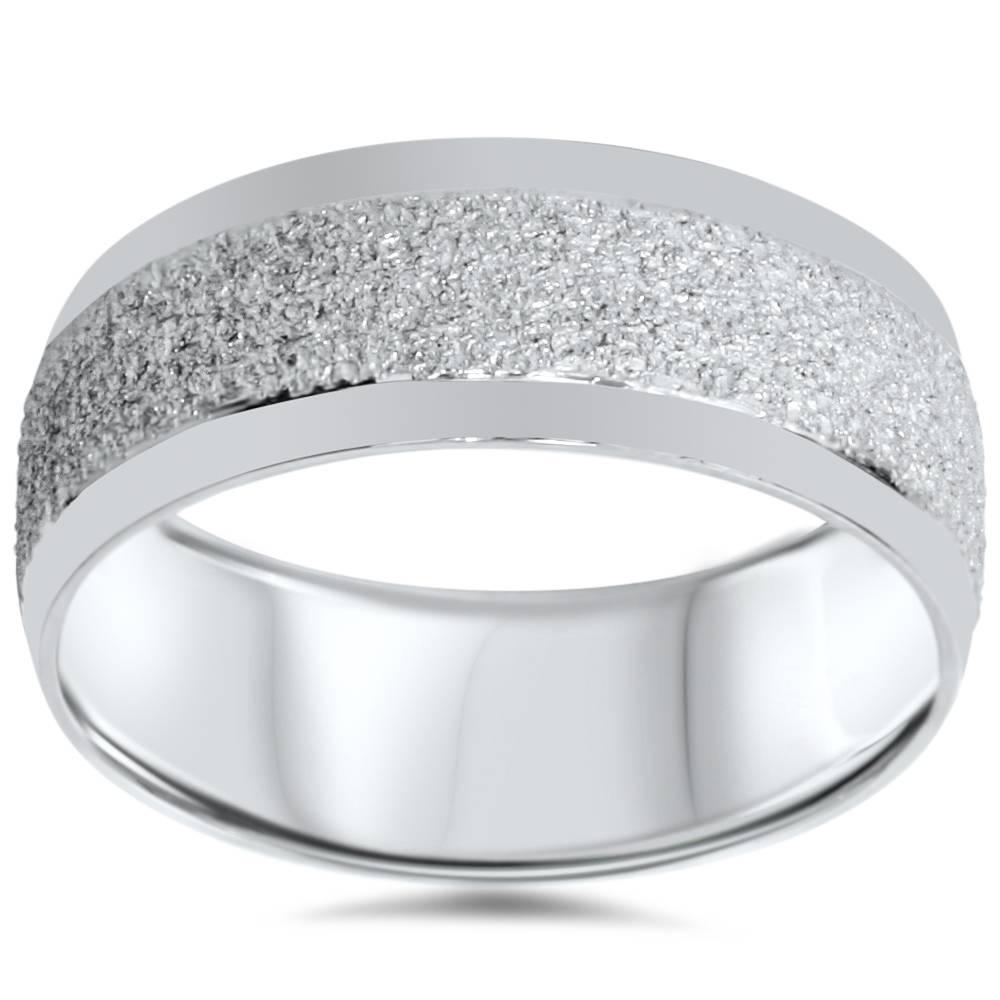 Mens Palladium 7mm Wedding Band Ring