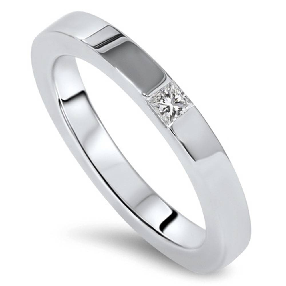 3.00 Ct Princess Cut Diamond Bridal Wedding Engagement Ring Solid 14k White Gold To Be Distributed All Over The World Fine Jewelry