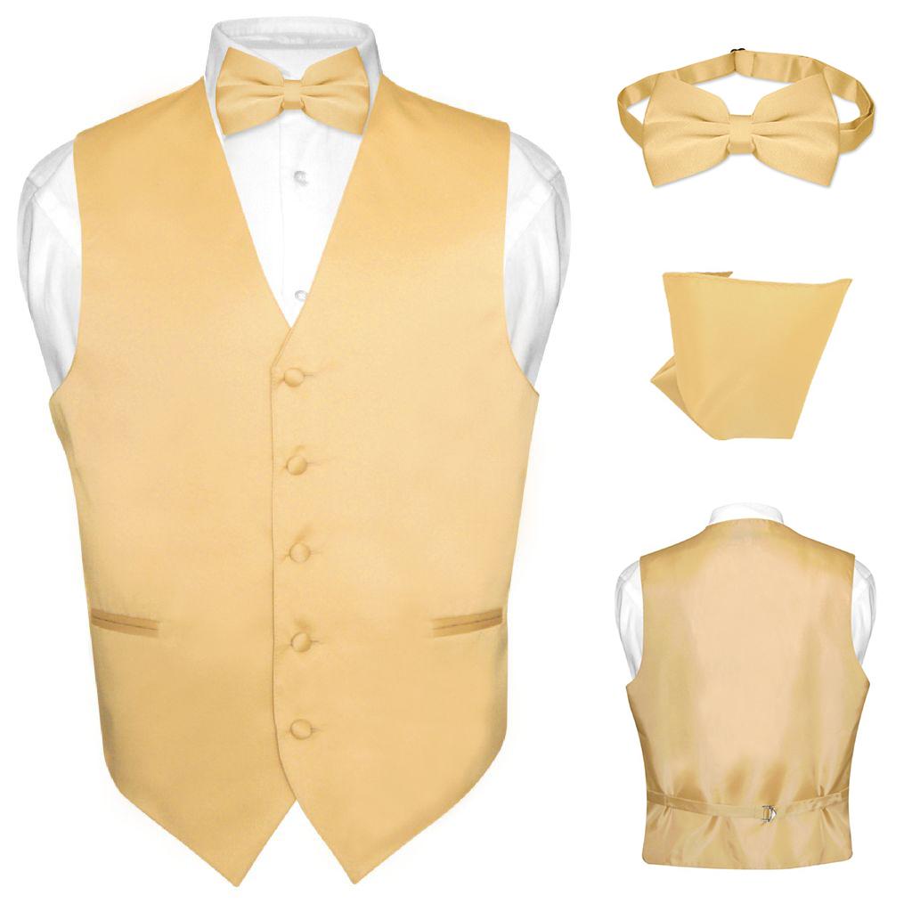 BOWTIE Solid ORANGE Color Men/'s Bow Tie for Tuxedo or Suit