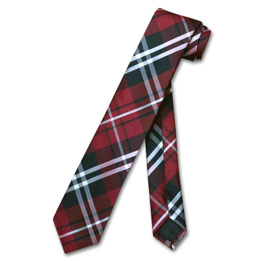 "Vesuvio Napoli NeckTie EMERALD GREEN Vertical Stripes SKINNY 2.5/"" Men/'s Neck Tie"