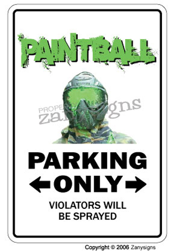 paintball sign - photo #14