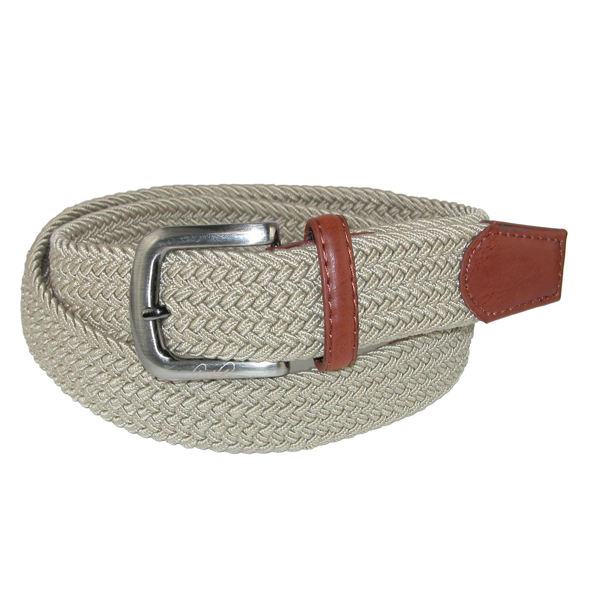 Arnold Palmer Mens Tubular Elastic Braided Belt