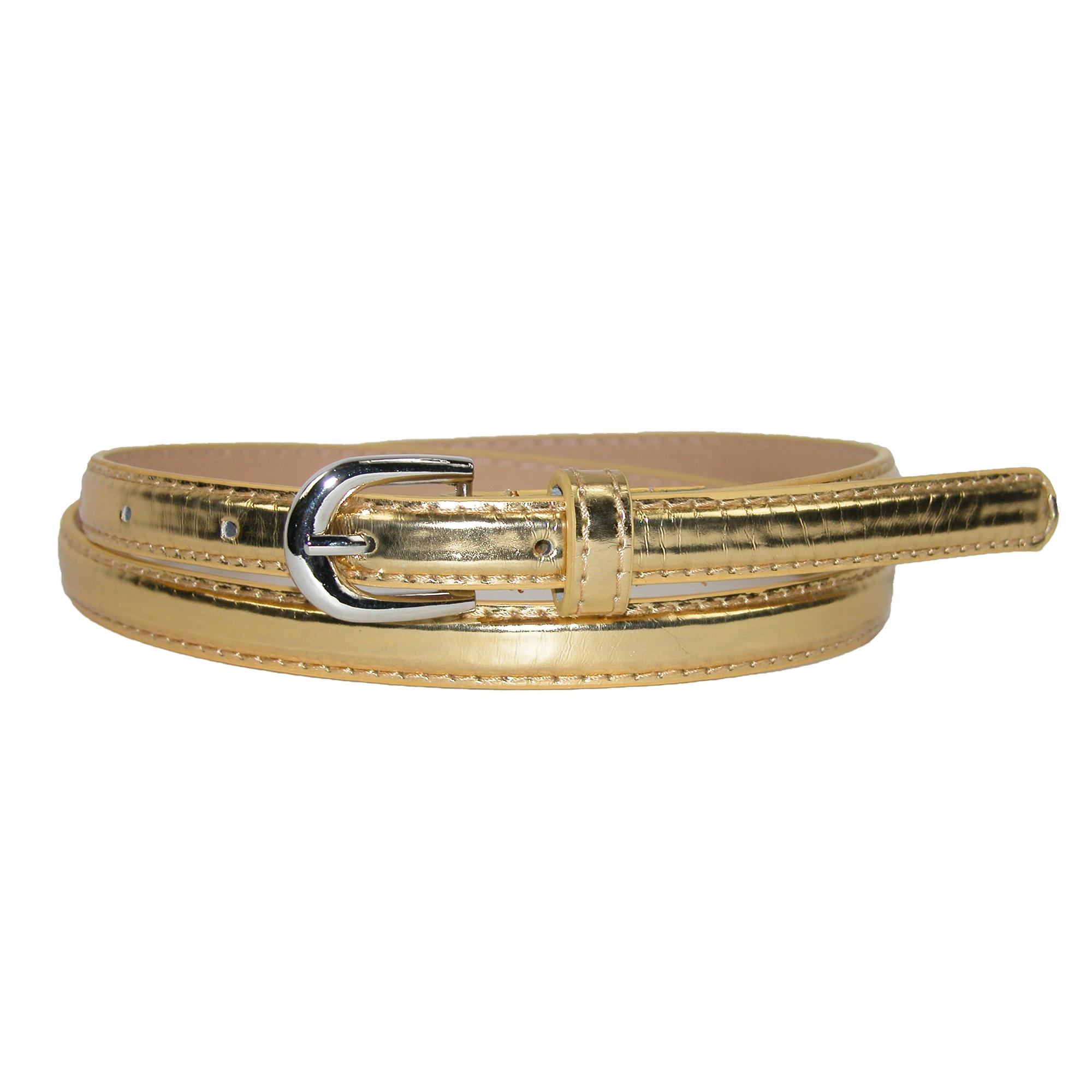 Ctm Womens Skinny Dress Belt