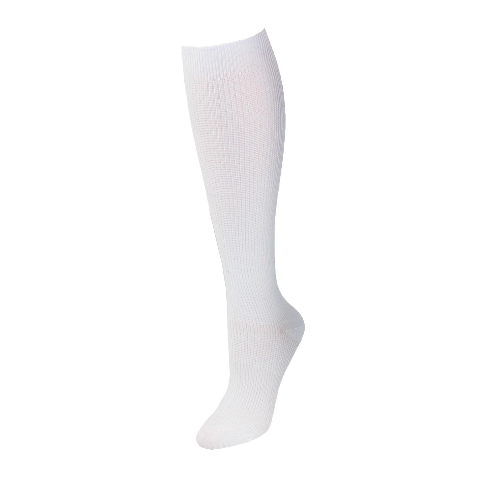 new think medical women's plus size compression socks knee highs
