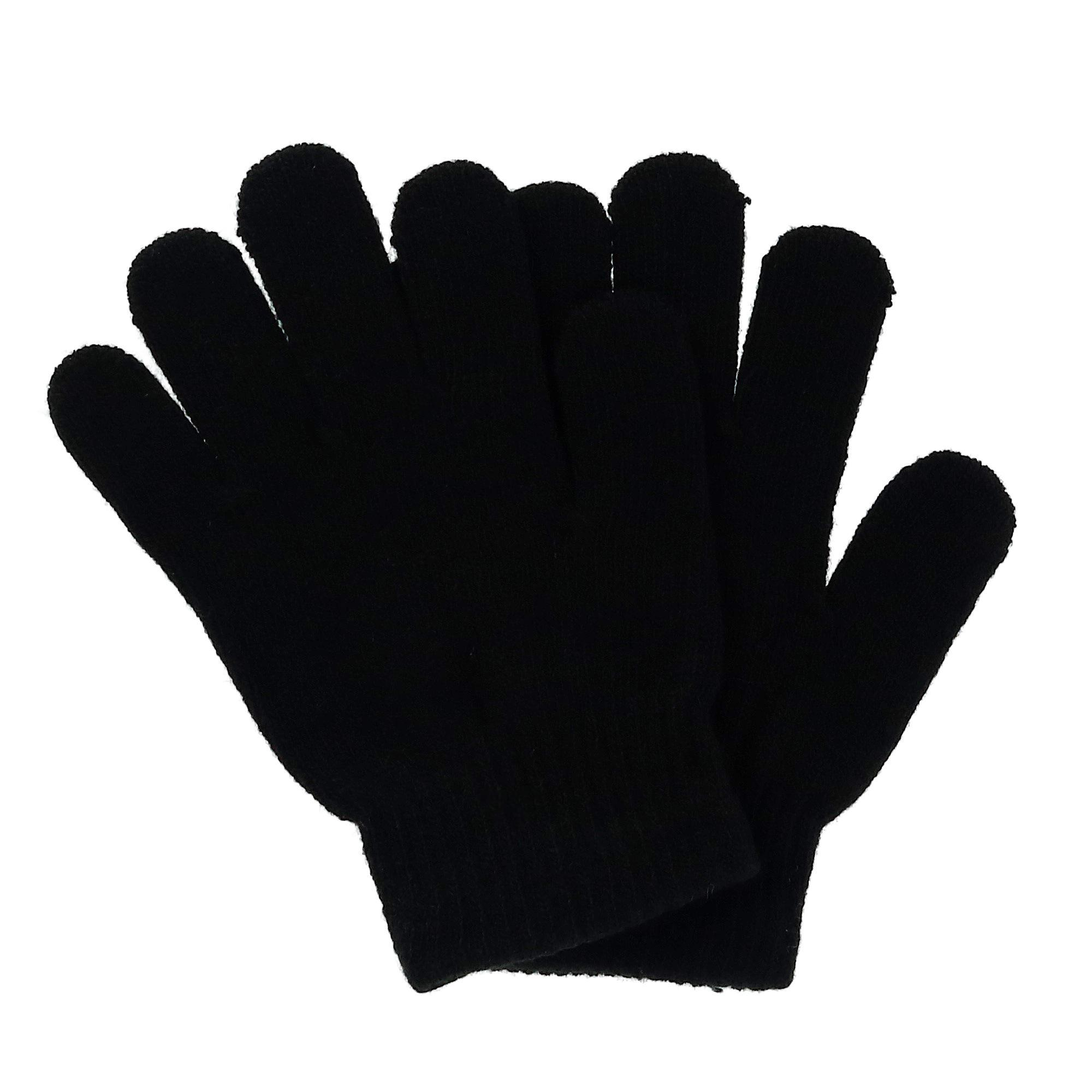 Grand Sierra Kids' Solid Stretch Winter Glove